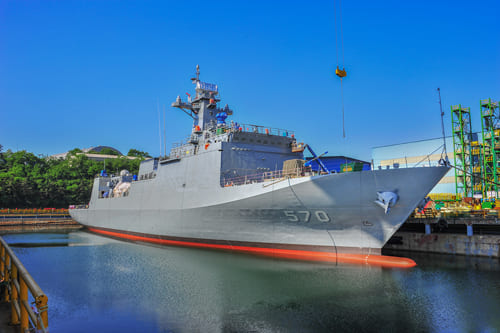 Korea s Second Minelayer MLS II Nampo